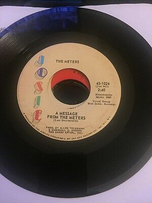 The Meters - A Message From The Meters Orig Funk 45 Ex