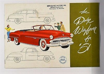 1954 Dodge Wayfarer Brochure