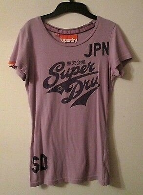 Girls Superdry Lilca T-shirt - XS - approx 11-12 years