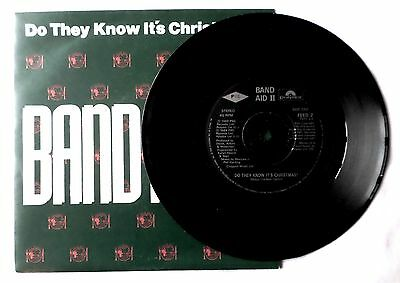 "Band Aid Ii. Do They Know It's Christmas?. 1989 Polydor. 7"" Vinyl."