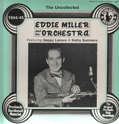 Eddie Miller The Uncollected - 1944-45 NEAR MINT Hindsight Records Vinyl LP
