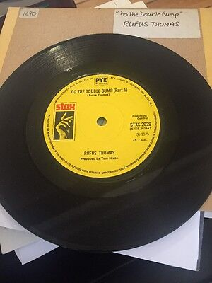 Rufus Thomas - Do The Double Bump Pt1&2 Orig Funk45 Ex 1975