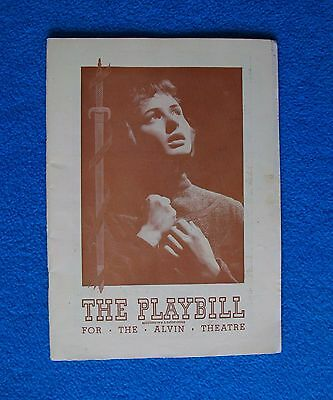 Two Playbills from1946: Joan of Lorraine (Ingrid Bergman), & Deep Are The Roots