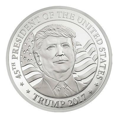 2017 Equatorial Guinea Donald Trump 10g Silver 500F GEM Proof PRESALE SKU45781