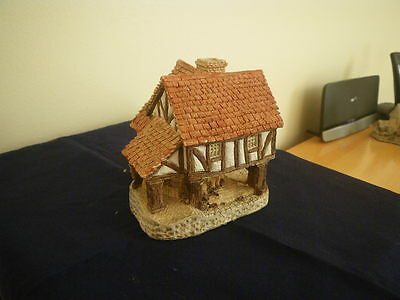 David Winter Cottages -  Little Market.  Collectable.  Very Good Condition.