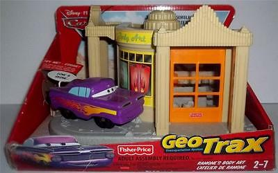 Fisher Price Disney CARS Ramone's Body Art Playset for Geotrax NEW in Box
