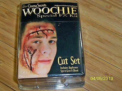 Ez Fx Bloody Gory Cuts Scars Wounds Stage Makeup Kit Prosthetic Costume Csez145