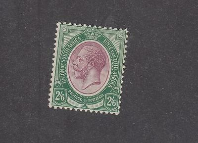 SOUTH AFRICA # 13 MLH KGV 2/6d CAT VALUE $70