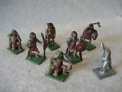 vintage Minifigs PICTS Celt BRITONS barbarian rpg gaming miniatures ancient 25mm