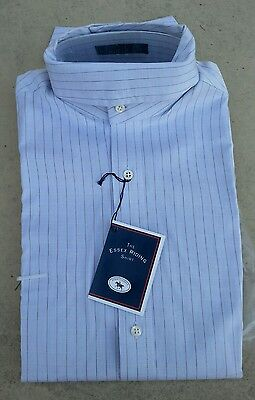 NWT ESSEX $78 Long Sleeve Ratcatcher Horse Show Shirt Gray Check 32 or 34
