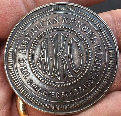 American Kennel Club Awarded To Champion Token Trophy AKC