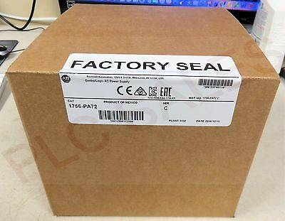 Allen Bradley 1756-PA72 /C  |  ControlLogix Power Supply - Mfg 2016  *NIBFS*