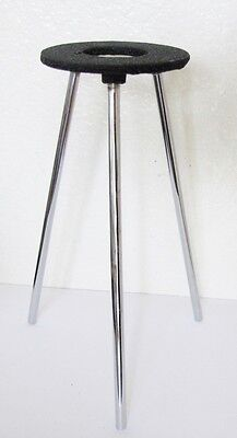 "Lab Bunsen Burner Tripod Cast Iron Support Stand 9"" New"