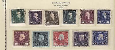 Austria  Military M22-M48 Vf Used And Mh  (Fay13