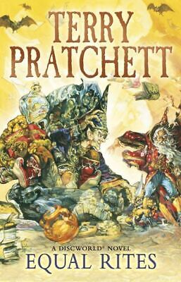 A Discworld novel: Equal rites by Terry Pratchett (Paperback) Quality guaranteed