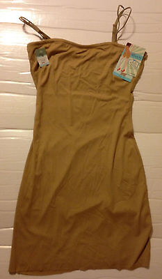 Sara Blakely Assets Fantastic Firmers Convertible Slip #1695 Sand Size 1X