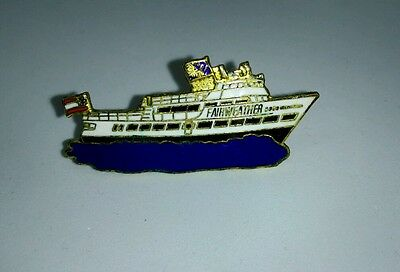 Vintage Fairweather cruise ship Hat - Lapel Pin