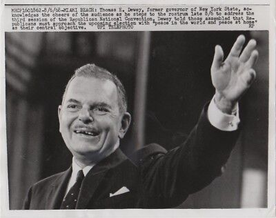 1968 Thomas Dewey Republican National Convention UPI Photo