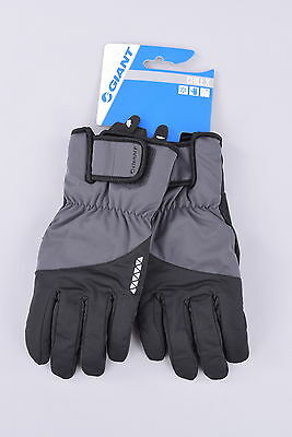 NEW Giant Chill X Cold Weather Cycling Gloves   Large   Black