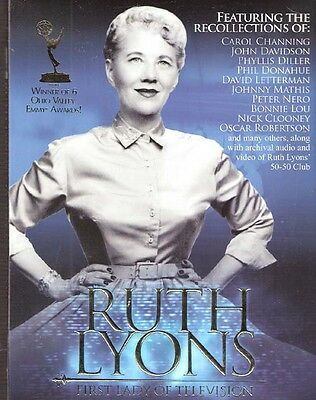 Ruth Lyons: First Lady of Television DVD CD Cincinnati