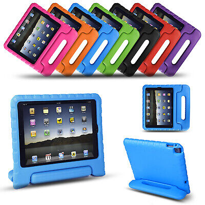 Kids Shock Proof Tough EVA Foam Stand Case Cover For iPad Samsung Amazon Tablet