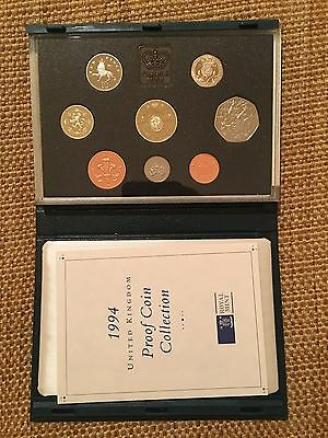 7 United Kingdom Great Britain Proof Coin Sets 1988 1990 1991 1993 1994 1975 &76