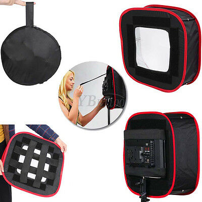 Foldable Diffuser Soft Filter Softbox w/Bag For Photography LED Light Panel