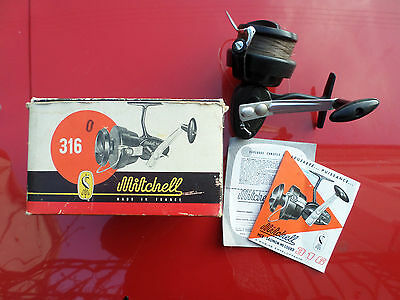 Ancien moulinet Mitchell 316
