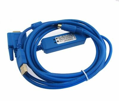 USB Programming Cable for Allen Bradley AB Micrologix 1000 1100 1200 1500 Blue