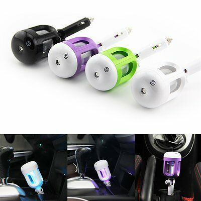 Mini Car Humidifier Air Purifier Freshener Aromatherapy Essential oil Diffuser