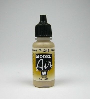 (17,59€/100ml) Model Air 17ml Vallejo Airbrush frei wählbar