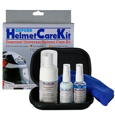 Oxford Helmet Care Kit Motorbike Motorcycle (Of608)