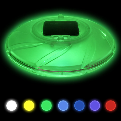 Bestway LED Solar Poollicht Poolbeleuchtung Schwimmbad Beleuchtung Poolleuchte#S