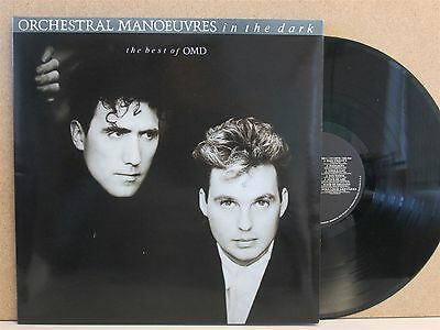 ORCHESTRAL MANOEUVRES IN THE DARK- Best of OMD LP (1988 EX Vinyl) Greatest Hits