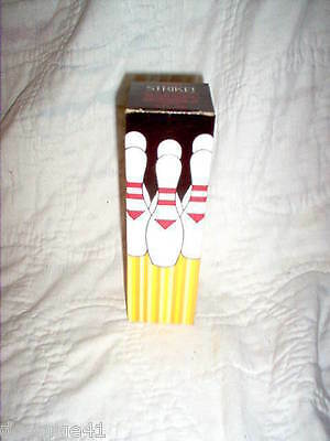 Avon Strike! Bowling Pin Wild Country After Shave Original Box (Full)