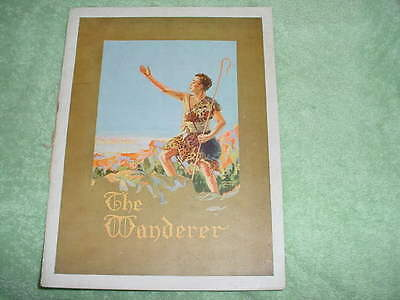 The Wanderer - 1917 Biblical Drama - Original Program