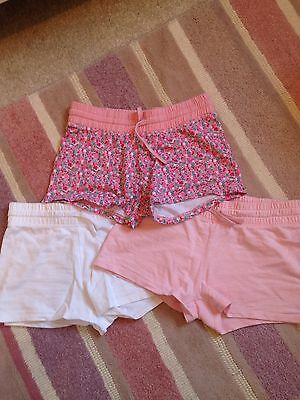 Next 3 Pack Of Shorts Age 12 Excellent Condition