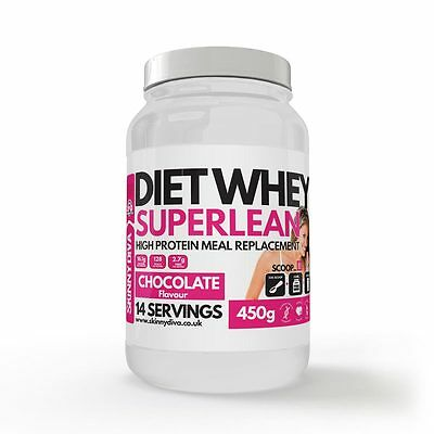 Skinny Diva Diet Whey Super Lean Vanilla Flavour BARGAIN 2 for £10 SALE NOW ON!