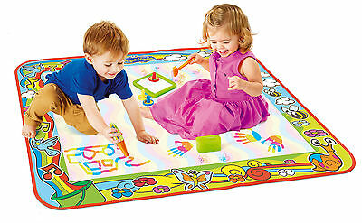 T72373 TOMY Super Colour Deluxe Aquadoodle Large Play Mat Toddler Children 18m+