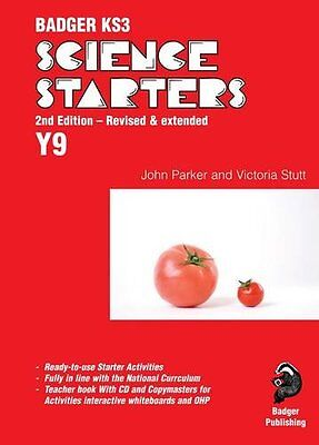 Badger KS3 Science Starters Year 9 Victoria Stutt Badger Publishing 2nd edition
