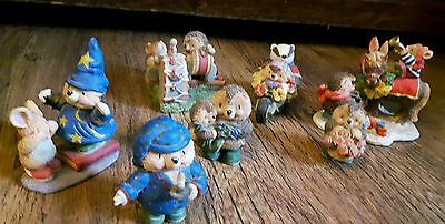 Country Companions Set of 7 Figurines Gordon Fraser collection