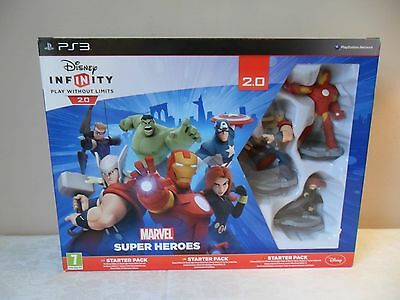 Disney Infinity 2.0 For Ps3 Starter Pack Boxed Hardly Used V Good Condition