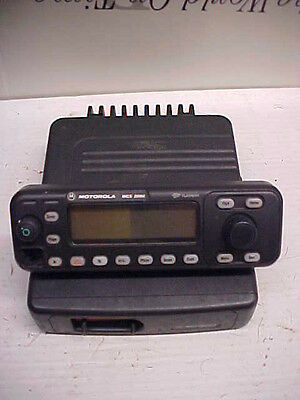 BLOWOUT Motorola mcs2000 800 mobile radio transceiver only m01ujm6pw6bn loc#a798