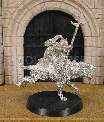 WARG RIDER- Lord Of The Rings Metal Figure(s)