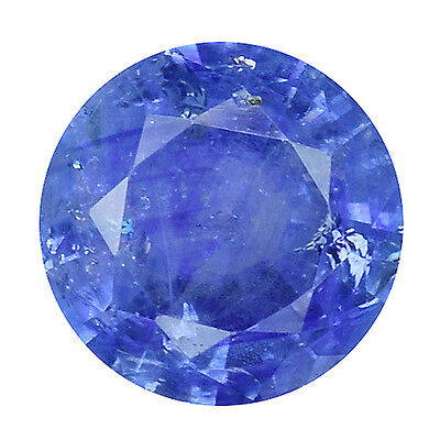 0.965 Cts Splendid Top Luster Blue Natural Sapphire Round Loose Gemstones