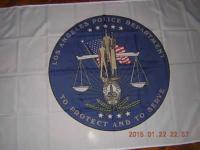 NEW Flag of LA Los Angeles Police Department (LAPD) City Police Ensign 3ftX5ft