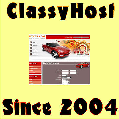 Auto Classifieds Website Business For Sale, Free Domain