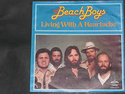 7-Single-Beat-THE BEACH BOYS-Living with a Heartache