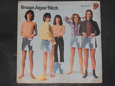 7-Single-Beat-Rock-THE ROLLING STONES-Brown Sugar