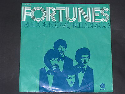 7-Single-Pop-Rock-THE FORTUNES-Freedom come,Freedom go
